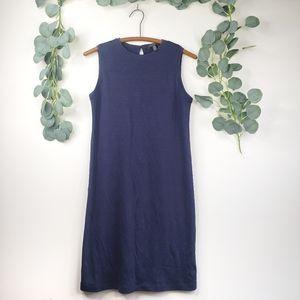 Eileen Fisher Women's Dress | Petite | Navy Blue